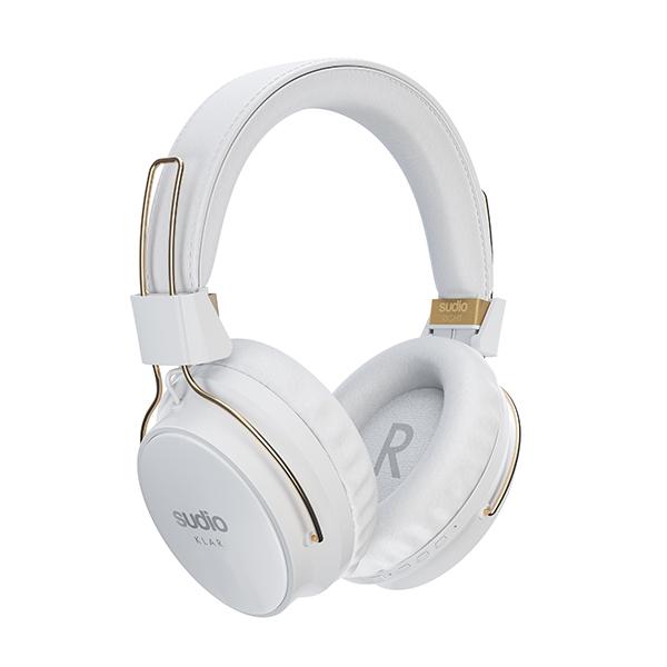 【ご予約受付中】 SUDIO スーディオ KLAR ANCワイヤレスヘッドホン ホワイト【SD-0035】 【送料無料】 おしゃれ Bluetooth ブルートゥース ワイヤレスヘッドホン 【8月11日発売予定】