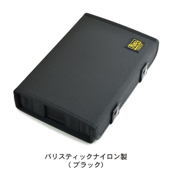 簡単に仕切の位置が変えられる イヤフォンケース バンナイズ イヤフォンケース-Ver.2.0 春の新作シューズ満載 ブラック バリスティックナイロン製 最新 VD826-00 6個用 送料無料