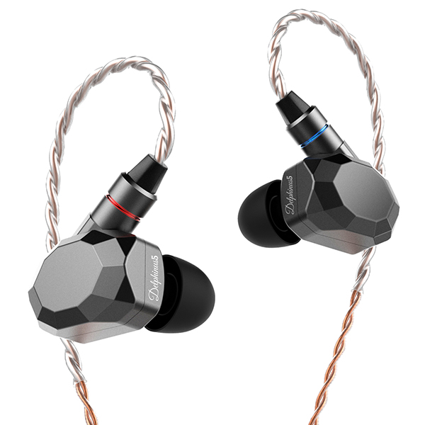 Astrotec アストロテック Delphius5 シルバー 高音質 カナル型イヤホン イヤフォン 【送料無料】