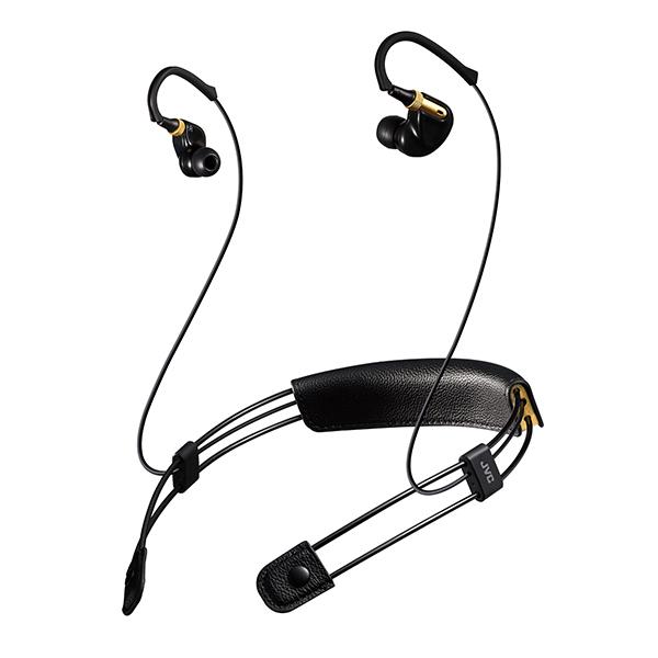 Bluetooth ブルートゥース ワイヤレス イヤホン JVC XE-M10BT-B ブラック 【送料無料】 【1年保証】