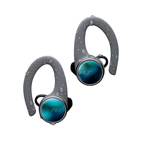 Bluetooth 完全ワイヤレス イヤホン Plantronics プラントロニクス BackBeat FIT 3100 グレー 【1年保証】 【送料無料】