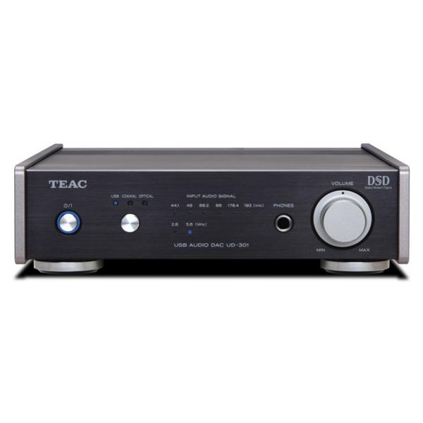 【お取り寄せ】 TEAC ティアック Reference301 UD-301-SP/B ブラック【デュアルモノーラル USB DAC ヘッドホンアンプ】【送料無料】 【1年保証】