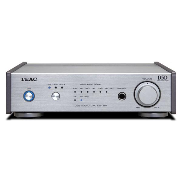 【お取り寄せ】 TEAC ティアック Reference301 UD-301-SP/Sシルバー【デュアルモノーラル USB DAC ヘッドホンアンプ】【送料無料】