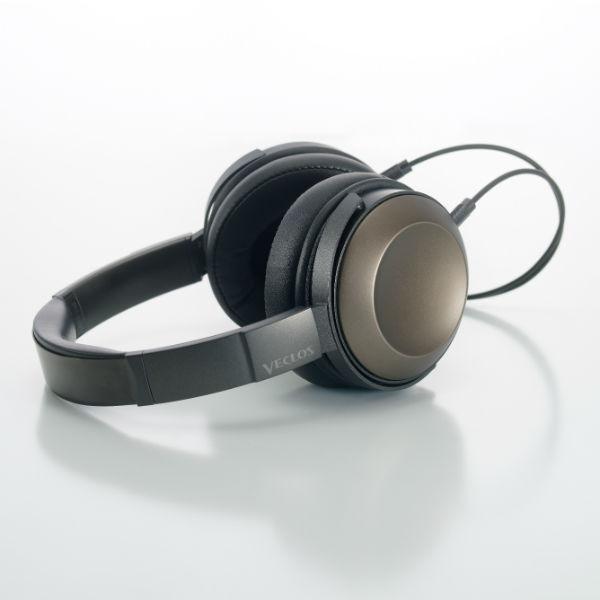 VECLOS ヴェクロス HPT-700 TG チタンゴールド 高音質 密閉型 ヘッドホン ヘッドフォン 【送料無料】 【1年保証】