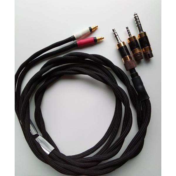 1本のAvesケーブルが3種類のプラグに変換できる あったら便利なケーブル お取り寄せ oBravo 送料無料でお届けします オーブラボ Avesケーブル 人気上昇中 4.4mm組換プラグ付属 3.5mm 送料無料 1年保証 2.5mm