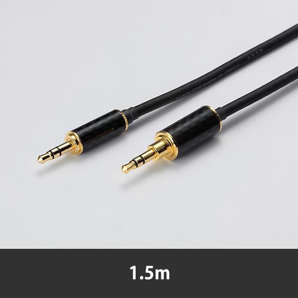 代引き不可 MASTER オープニング 大放出セール DYNAMIC用ヘッドフォンリケーブル お取り寄せ ORB オーブ Clear force 3.5 3.5mmシングル-3.5mmシングル 6ヶ月保証 to MD 1.5m 送料無料 for