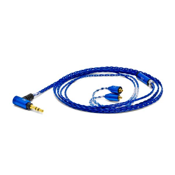 Re:cord(リコード) Palette 8 MX-A Sapphire Blue [MMCX-A type]【SHURE SEシリーズなど汎用タイプMMCXリケーブル】【送料無料】 【3ヶ月保証】