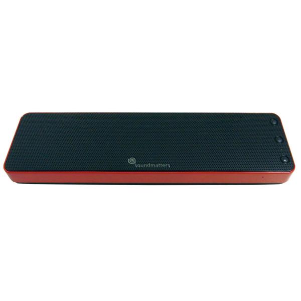 soundmatters サウンドマター Bluetooth ポータブルスピーカー レッド (siri対応)foxL Dash7s 【DASH7S-RE】【送料無料】 【1年保証】