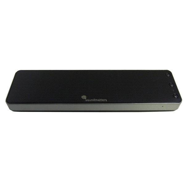 soundmatters サウンドマター Bluetooth ポータブルスピーカー シルバー (siri対応)foxL Dash7s 【DASH7S-SV】【送料無料】 【1年保証】