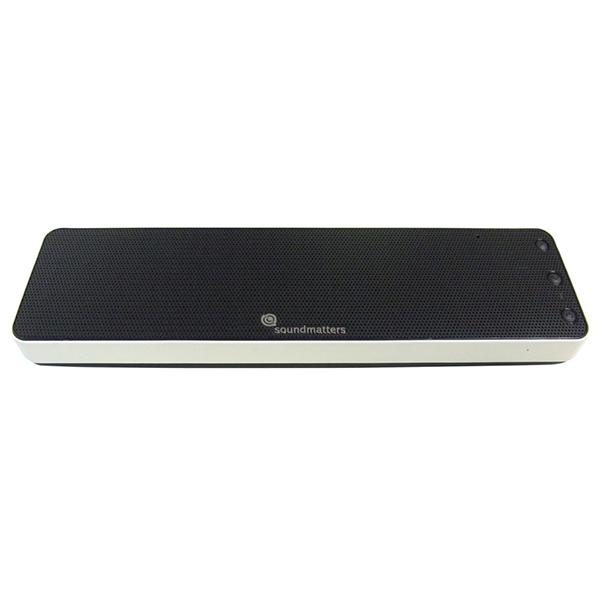 soundmatters サウンドマター Bluetooth ポータブルスピーカー ホワイト (siri対応)foxL Dash7s 【DASH7S-WH】【送料無料】 【1年保証】