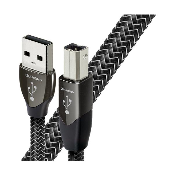 【お取り寄せ】 audioquest オーディオクエスト Diamond USB A → USB B 3m【USB2/DIA/3M】 【送料無料】
