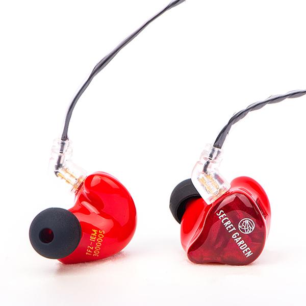 【新製品】 TFZ SECRET GARDEN 3 レッド 【送料無料】 高音質 カナル型 イヤホン イヤフォン 【1年保証】
