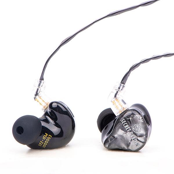 TFZ SECRET GARDEN 3 ブラック 【送料無料】 高音質 カナル型 イヤホン イヤフォン 【1年保証】