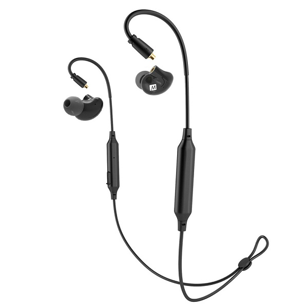 Mee Audio ミーオーディオ PINNACLE P2+BTX1 ブラック (MMCX-Bluetoothケーブル)セット イヤホン イヤフォン【送料無料】 【1年保証】