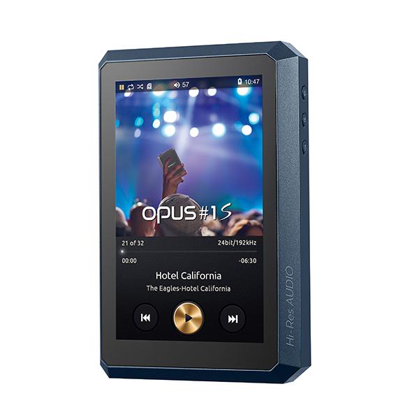 audio-opus オーディオオーパス OPUS#1S ラピスブルー [HA-520-32G-LB] ハイレゾ対応ポータブルプレイヤー【送料無料(代引き不可)】 【1年保証】