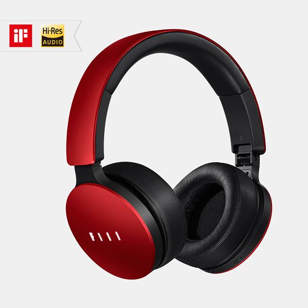 【在庫限り】 FIIL(フィール) FIIL Red(レッド) ノイズキャンセリング機能搭載ヘッドホン ヘッドフォン【送料無料】