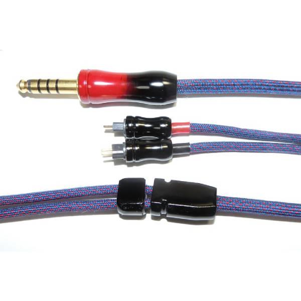 【お取り寄せ】NIDEON ニデオン Japan CIEM2Pin-4.4mm 【J1-Ta(4.4S)】リケーブル 2pin-4.4mm 5極プラグ 日本製【送料無料】※納期約1か月ほど