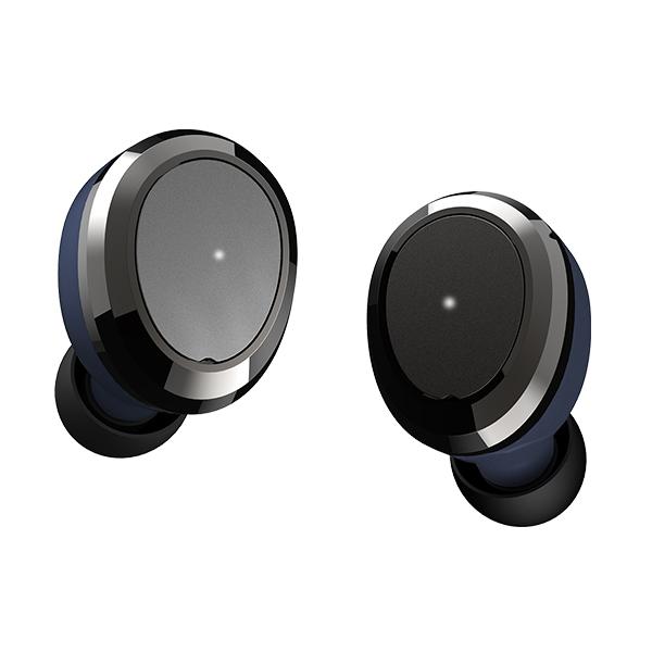 【動画あり★】 Bluetooth イヤホン 完全ワイヤレスイヤホン Dearear Oval NAVY 【DE-0103】 【送料無料】 トゥルーワイヤレス 両耳 左右分離型 フルワイヤレス Bluetooth イヤフォン 【1年保証】