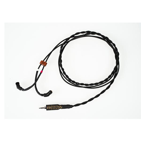 Brise Audio ブリスオーディオ Octa14Ref. [4極Φ2.5mm純銅ロジウムメッキプラグ-JH4pin(低域調整機構なし)]【送料無料(代引き不可)】イヤホンリケーブル 【1年保証】