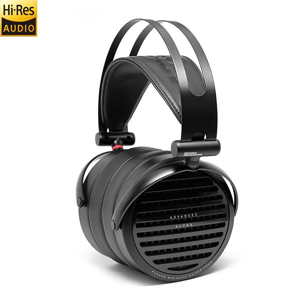 ADVANCED(アドバンスド) Alpha 開放型 ヘッドホン 高音質 ヘッドフォン 【送料無料】 【1年保証】