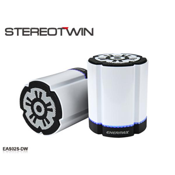 【お取り寄せ】 Enermax EAS02S-DW 【送料無料】 LED搭載 Bluetoothスピーカー ワイヤレススピーカー 【1年保証】