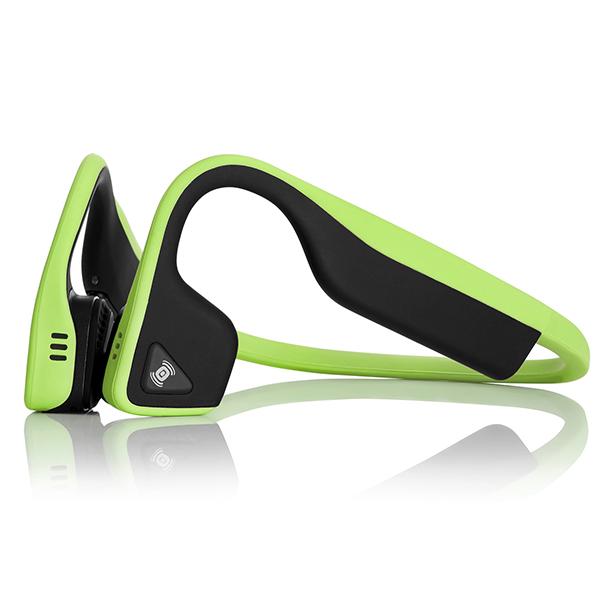 骨伝導 ワイヤレス イヤホン Aftershokz アフターショックス TREKZ Titanium グリーン 【送料無料】 Bluetooth ブルートゥース イヤフォン 【2年保証】