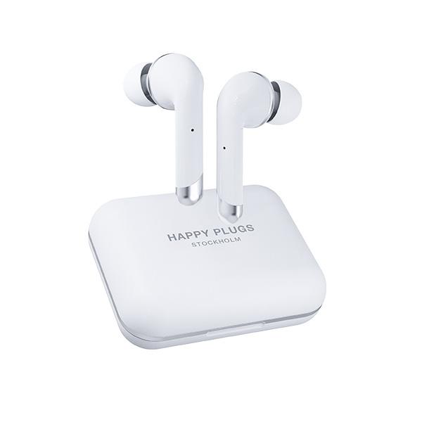 Happy Plugs AIR 1 PLUS IN-EAR WHITE 【1660】 ブルートゥース ワイヤレス イヤホン Bluetooth 完全ワイヤレス フルワイヤレス 【送料無料】