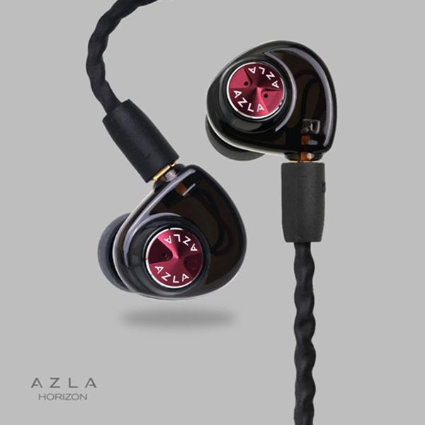 AZLA(アズラ) AZLA HORIZON Crimson Red 【AZLA-HORIZON-RED】 高音質 カナル型 イヤホン イヤフォン【送料無料】【1年保証】