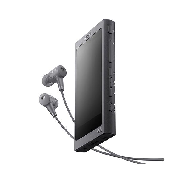 【在庫限り】 SONY ソニー NW-A45HN BM グレイッシュブラック ウォークマン 本体 Aシリーズ 16GB ハイレゾ対応 ノイズキャンセリングイヤホン同梱モデル 【送料無料】