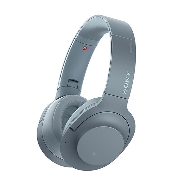 Bluetooth ワイヤレス ヘッドホン SONY ソニー WH-H900N LM ムーンリットブルー 【送料無料】 ノイズキャンセリング ノイキャン ヘッドフォン 【1年保証】