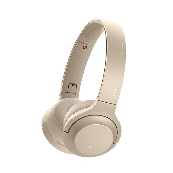 SONY ソニー WH-H800 NM ペールゴールド 【送料無料】 Bluetooth ワイヤレス ヘッドホン 【1年保証】