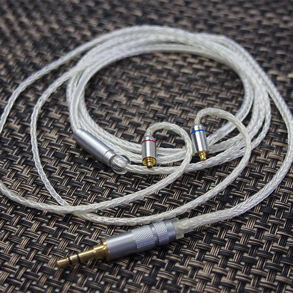 高域だけではなく中低域もクリアな音を再現するイヤホンケーブル SoundsGood セール特別価格 WhiteSnake WS-MS 新作からSALEアイテム等お得な商品 満載 MMCX-3.5mm 1ヶ月保証 送料無料