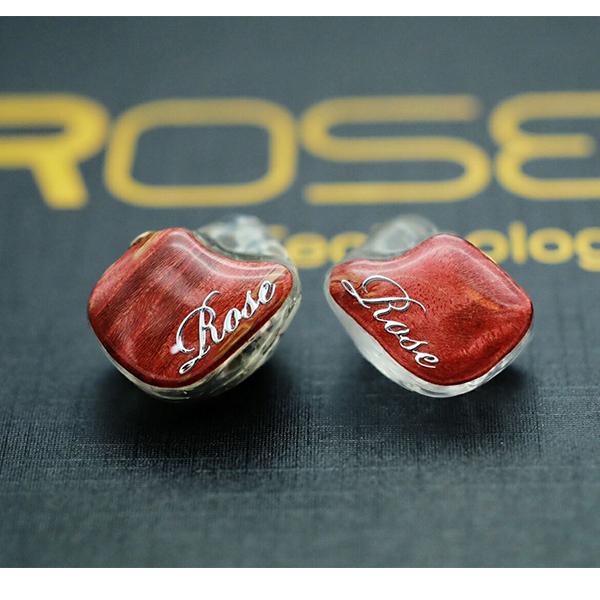 Rose(ローズ) BR5 Mk2 レッド【送料無料】 高音質 カナル型 イヤホン イヤフォン 【1年保証】
