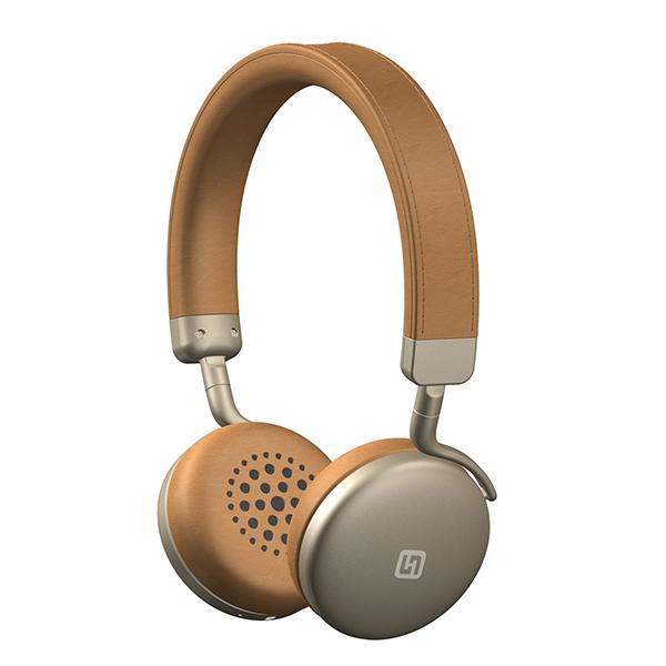 おしゃれ Bluetooth ワイヤレスヘッドホン FUTURE TURBO2 ゴールド
