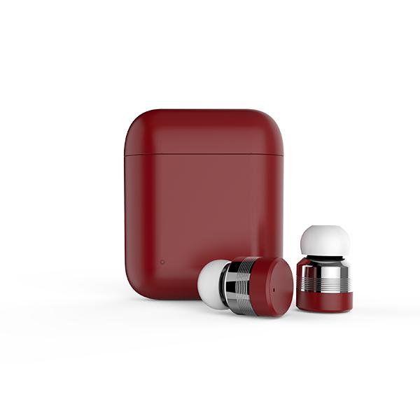 Bluetooth イヤホン 完全ワイヤレスイヤホン Horen ホーレン FG-X1T-RD レッド 【送料無料】 【1年保証】 iPhone7 iPhone8 iPhoneXにおすすめのフルワイヤレスイヤホン