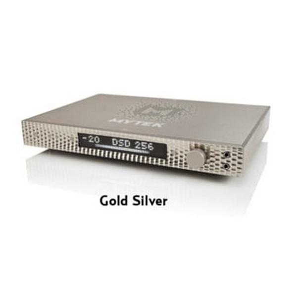 MYTEK Digitalのコンシューマ―用DACの最上位機種 【お取り寄せ】 MYTEK Digital マイテック Manhattan DAC II Gold 【MTK-DA-MHT-2-G】 【送料無料(代引き不可)】 【2年保証】