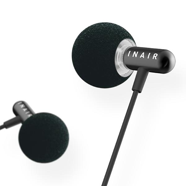 耳に入るスピーカー INAIR インエアー M360bt BK ブラック【インエアー方式Bluetoothイヤースピーカー】 【1年保証】 【送料無料】