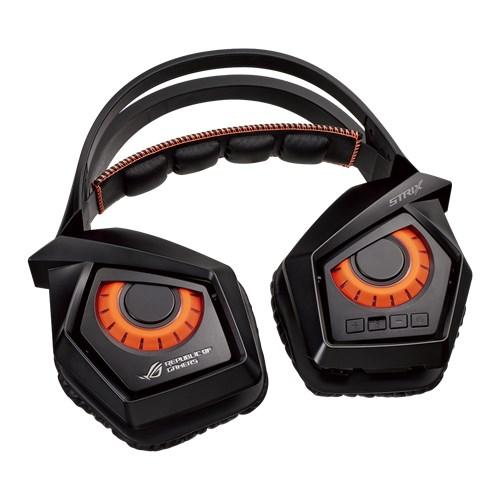 ワイヤレス ゲーミングヘッドセット ASUS エイスース ROG Strix Wireless サラウンド PS4 PC 対応 FPS等におすすめ 【送料無料】 無線ゲーミングヘッドセット 【1年保証】