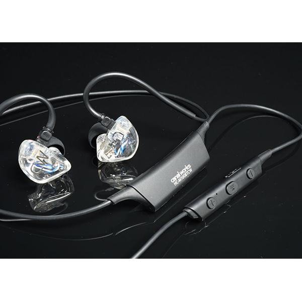 【お取り寄せ】 カナルワークス CW-U02BT 【送料無料】 高音質 Bluetooth ワイヤレス カナル型 イヤホン イヤフォン