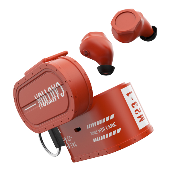 【新製品】 完全ワイヤレス イヤホン COOPIDEA コープアイディア CARGO オレンジ 【CI-0023】 Bluetooth ワイヤレス イヤフォン 【送料無料】
