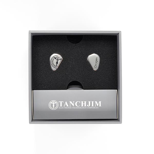 TANCHJIM タンジジム Oxygen (オキシジェン) Silver 【送料無料】 高音質 イヤホン 有線 カナル型 イヤホン イヤフォン 【1年保証】