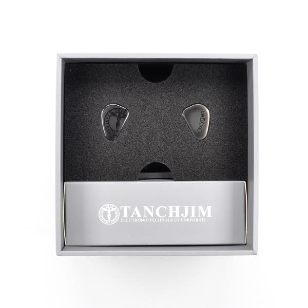 TANCHJIM タンジジム Oxygen (オキシジェン) Black 【送料無料】 高音質 イヤホン 有線 カナル型 イヤホン イヤフォン 【1年保証】
