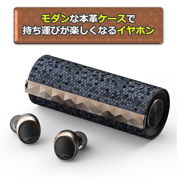 完全ワイヤレス イヤホン padmate パッドメイト PaMuScroll Graphene 【送料無料】 Bluetooth ブルートゥース イヤフォン 【1年保証】