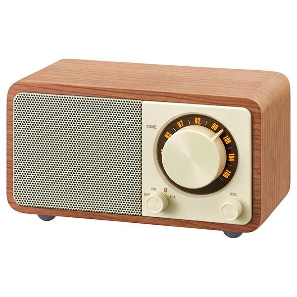 【お取り寄せ】 SANGEAN サンジーン WR-301 チェリー (FMラジオ・Bluetoothスピーカー) Bluetooth ワイヤレス スピーカー ラジオ FM ブルートゥース 【送料無料】