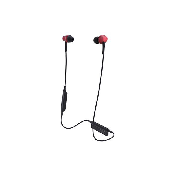 Bluetooth イヤホン ワイヤレス audio-technica オーディオテクニカ ATH-CKR75BT-RD ブリリアントレッド 【送料無料】aptX対応 【1年保証】