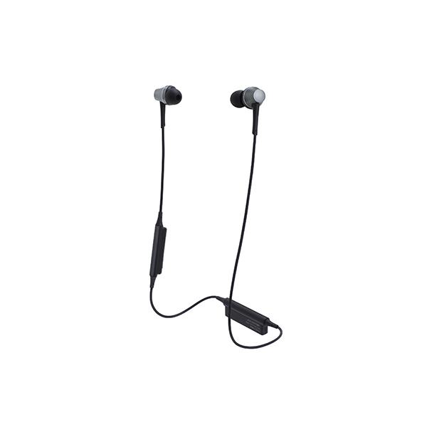 Bluetooth イヤホン ワイヤレス audio-technica オーディオテクニカ ATH-CKR75BT-GM ガンメタリック 【送料無料】aptX対応 【1年保証】