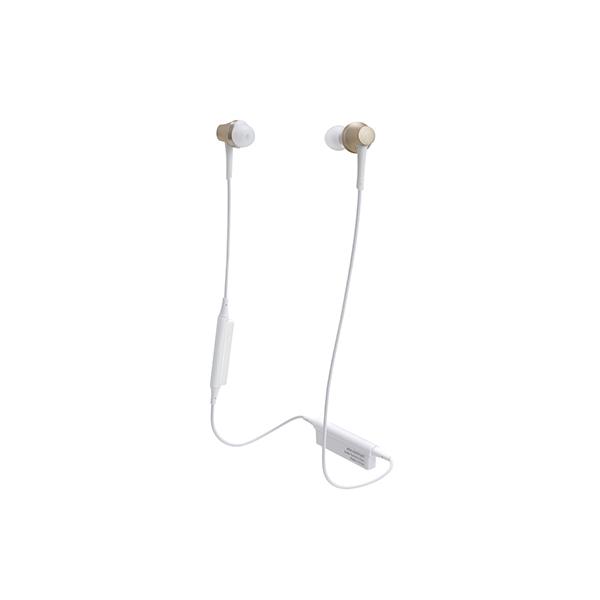Bluetooth イヤホン ワイヤレス audio-technica オーディオテクニカ ATH-CKR75BT-CG シャンパンゴールド 【送料無料】aptX対応 【1年保証】