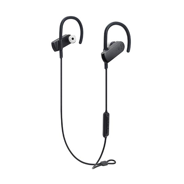 防水 Bluetooth イヤホン audio-technica オーディオテクニカ ATH-SPORT70BT-BK ブラック 【送料無料】 スポーツ ランニング 水洗い可能 ワイヤレス イヤフォン 【1年保証】