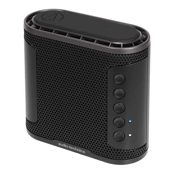 audio-technica オーディオテクニカ AT-SBS50BT BK 【送料無料】 ポータブル ワイヤレス 重低音 Bluetooth IPX5 防水 スピーカー 【1年保証】