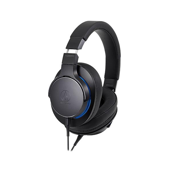 audio-technica オーディオテクニカ ATH-MSR7b BK ブラック ハイレゾ対応 高音質 密閉型 ポータブル ヘッドホン ヘッドフォン【送料無料】 【1年保証】